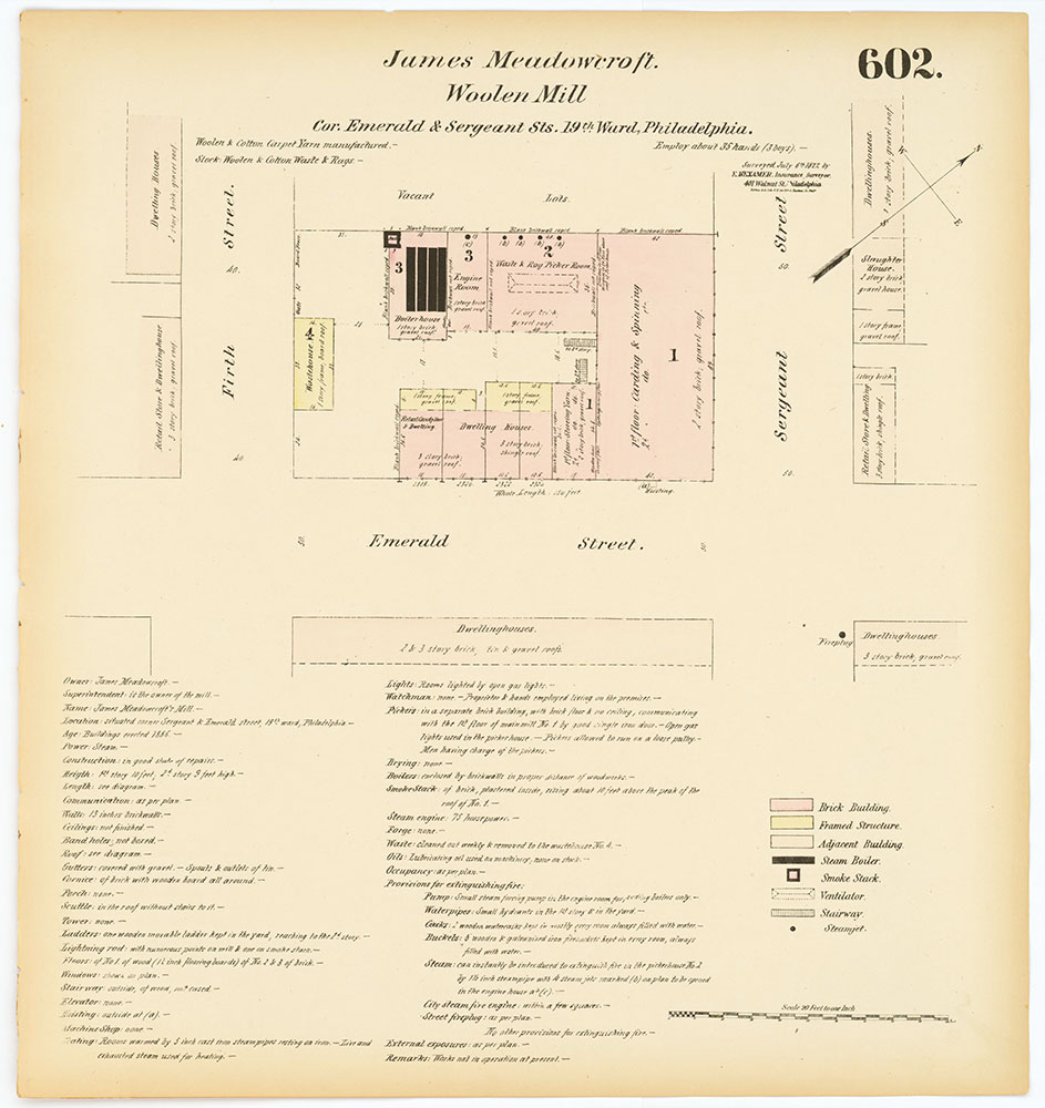 Hexamer General Surveys, Volume 7, Plate 602