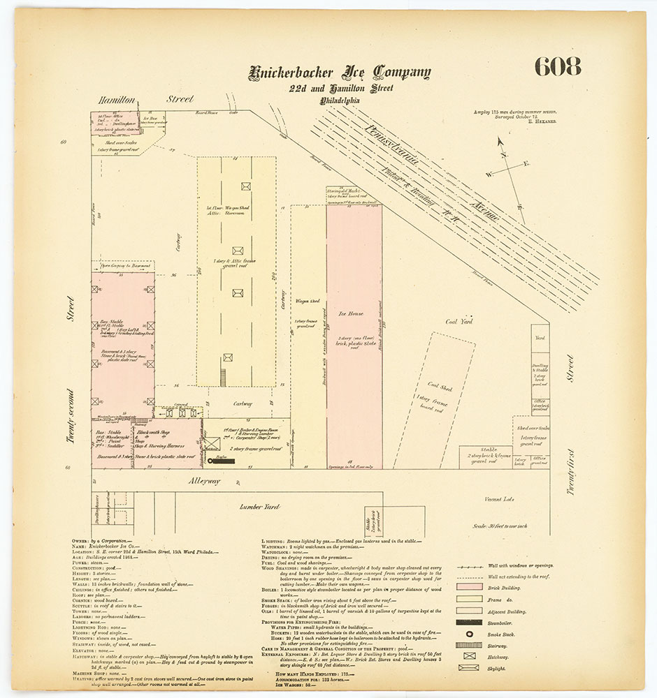 Hexamer General Surveys, Volume 7, Plate 608