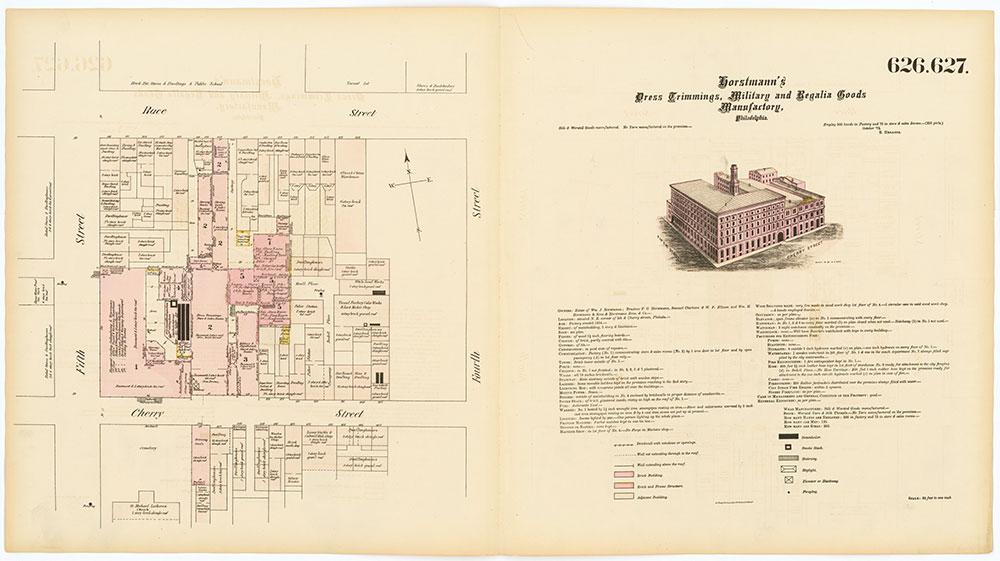 Hexamer General Surveys, Volume 7, Plates 626-627