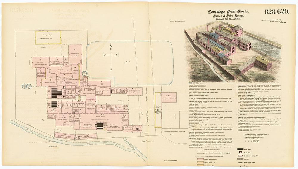 Hexamer General Surveys, Volume 7, Plates 628-629