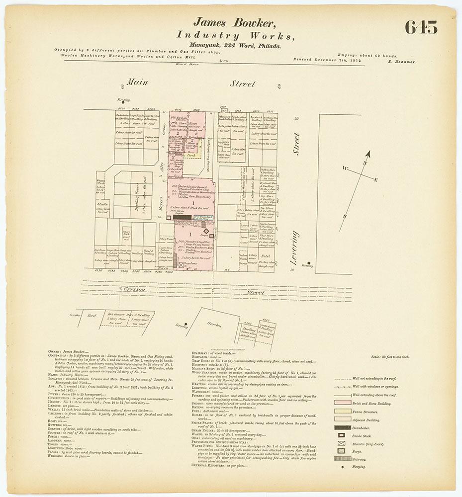 Hexamer General Surveys, Volume 7, Plate 645