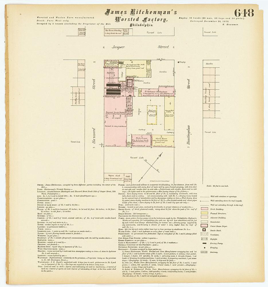 Hexamer General Surveys, Volume 7, Plate 648