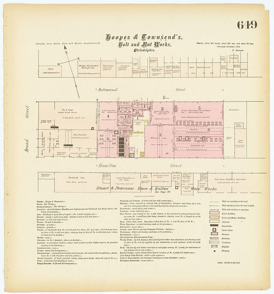 Hexamer General Surveys, Volume 7, Plate 649