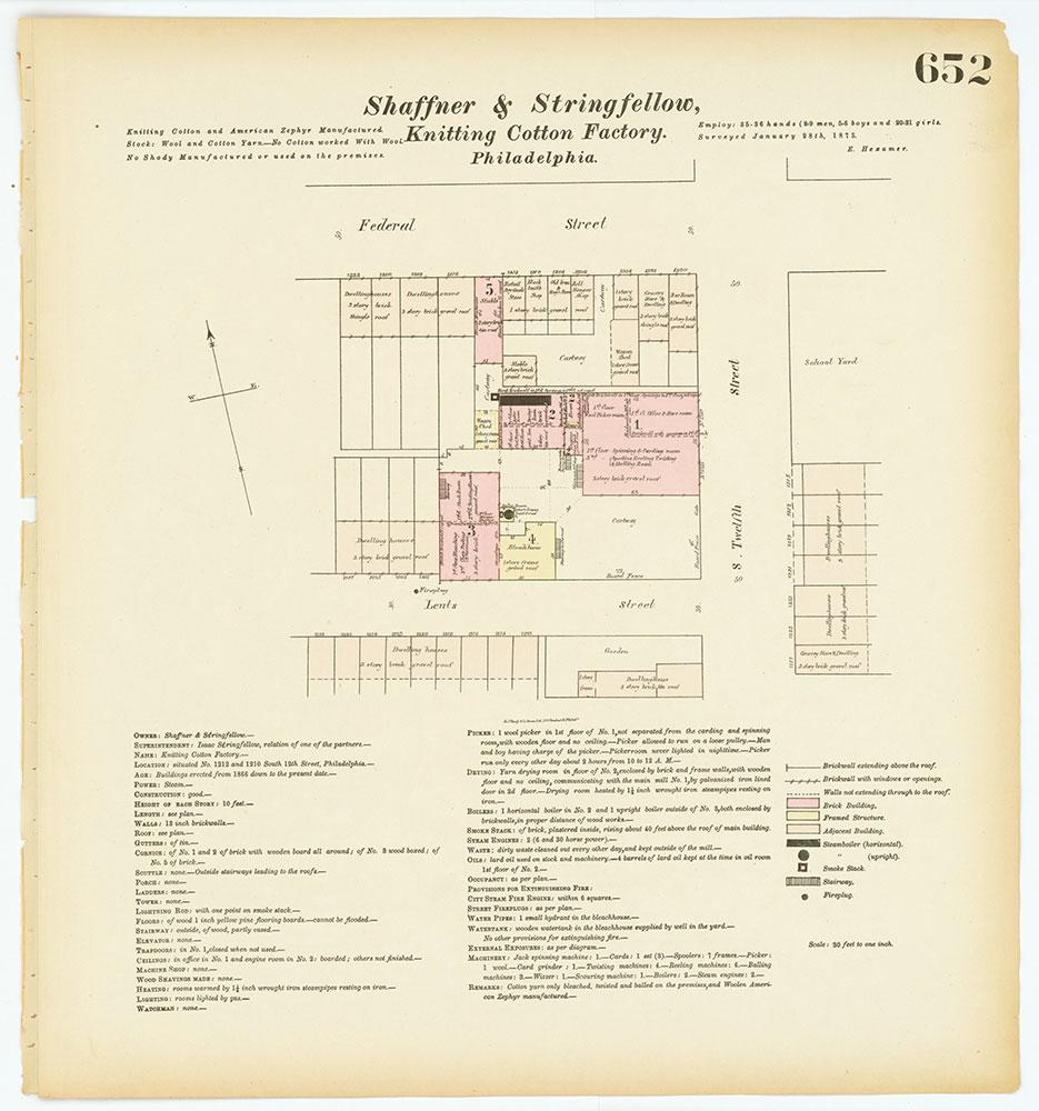 Hexamer General Surveys, Volume 7, Plate 652