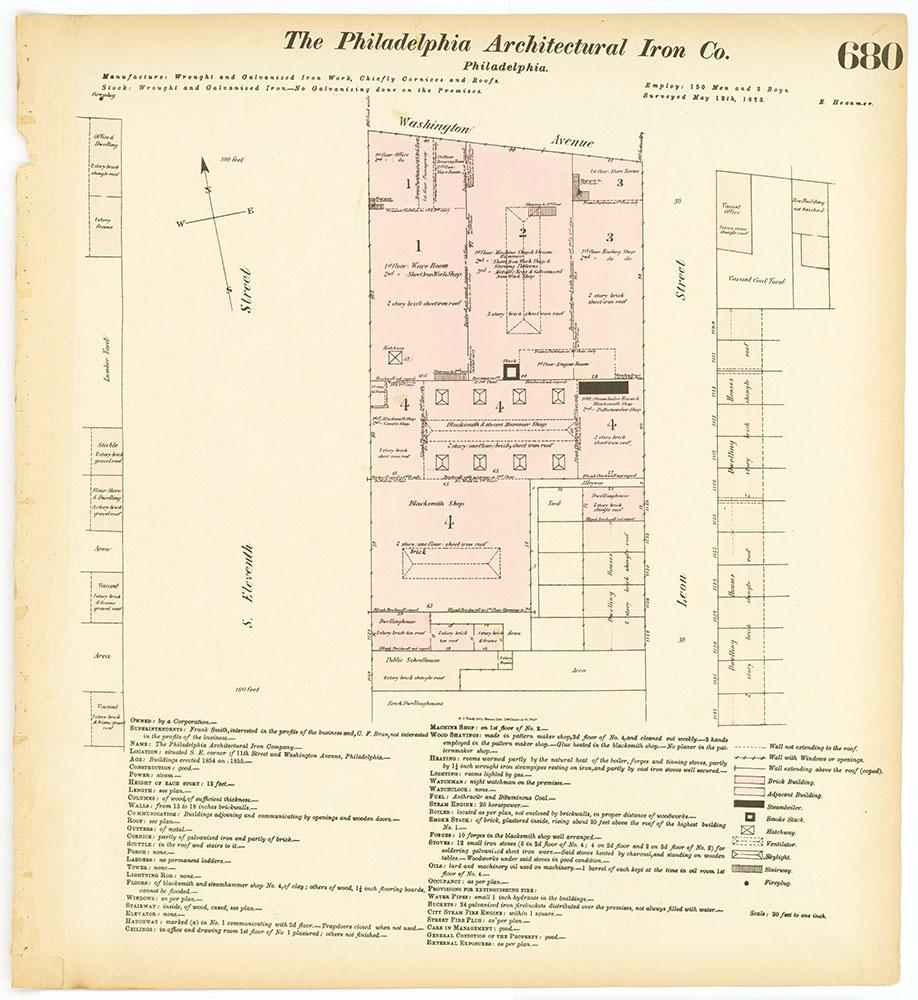 Hexamer General Surveys, Volume 8, Plate 680