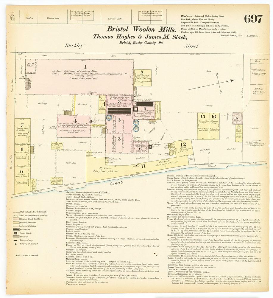 Hexamer General Surveys, Volume 8, Plate 697
