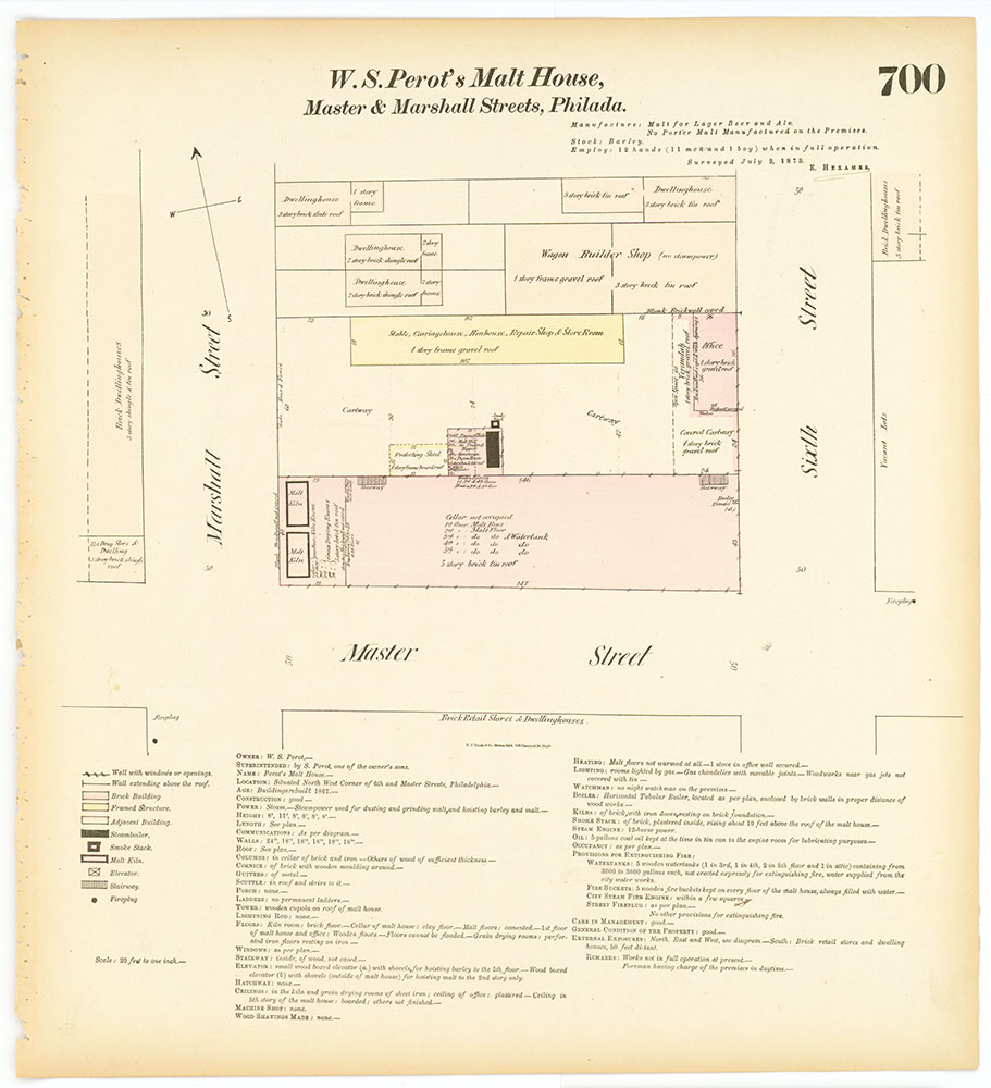 Hexamer General Surveys, Volume 8, Plate 700