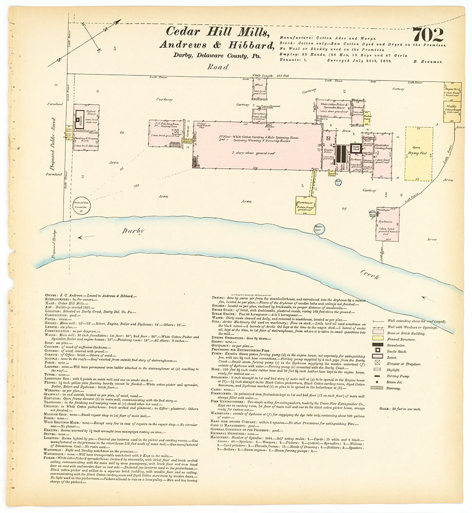 Hexamer General Surveys, Volume 8, Plate 702