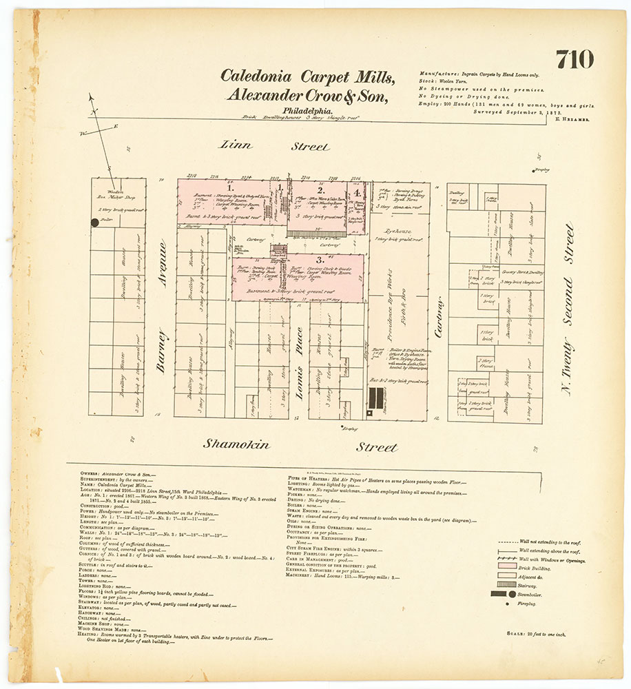 Hexamer General Surveys, Volume 8, Plate 710