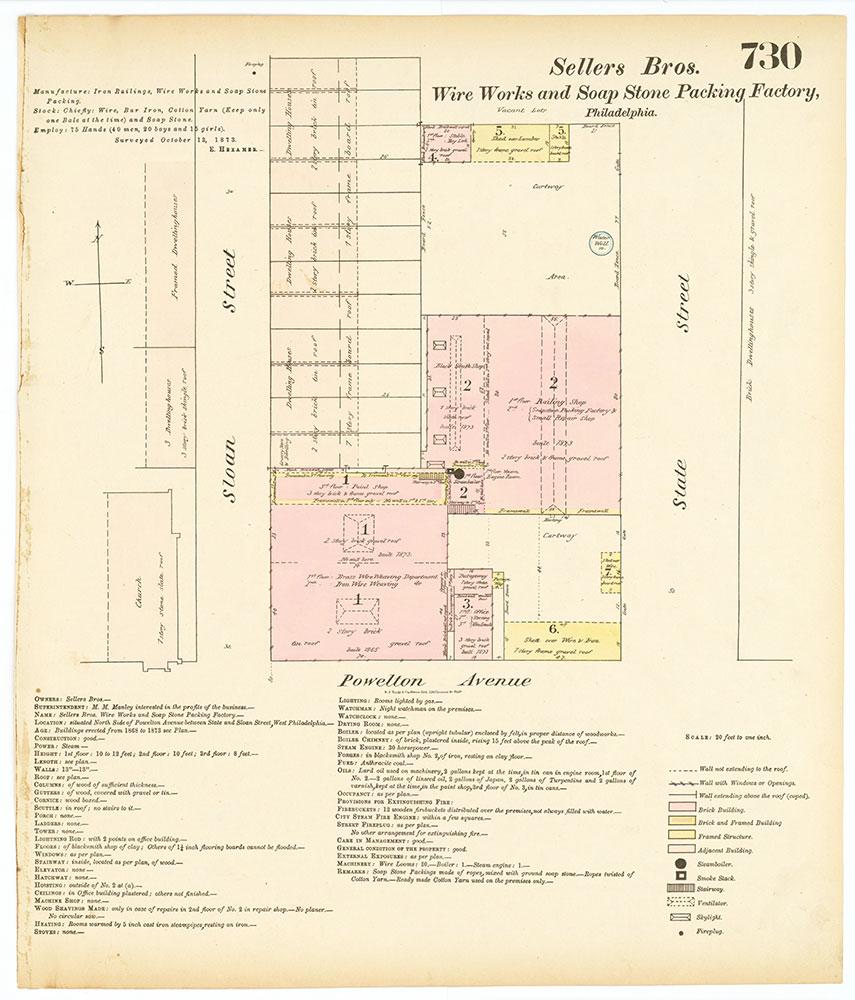 Hexamer General Surveys, Volume 8, Plate 730