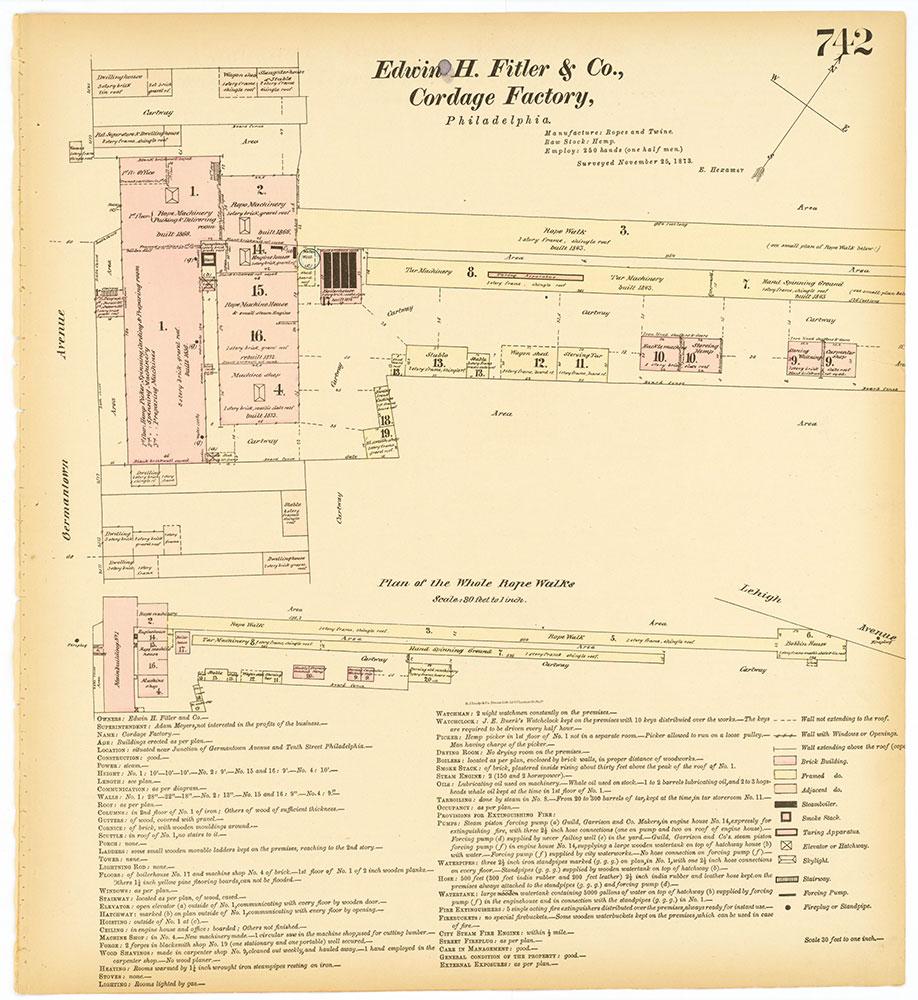 Hexamer General Surveys, Volume 8, Plate 742