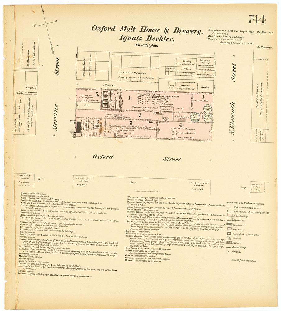 Hexamer General Surveys, Volume 8, Plate 744