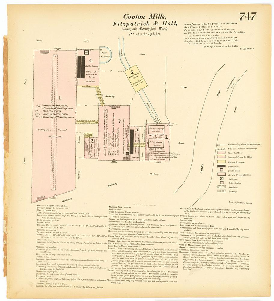 Hexamer General Surveys, Volume 8, Plate 747