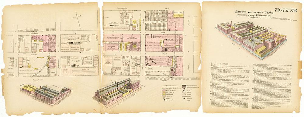 Hexamer General Surveys, Volume 9, Plates 756-758