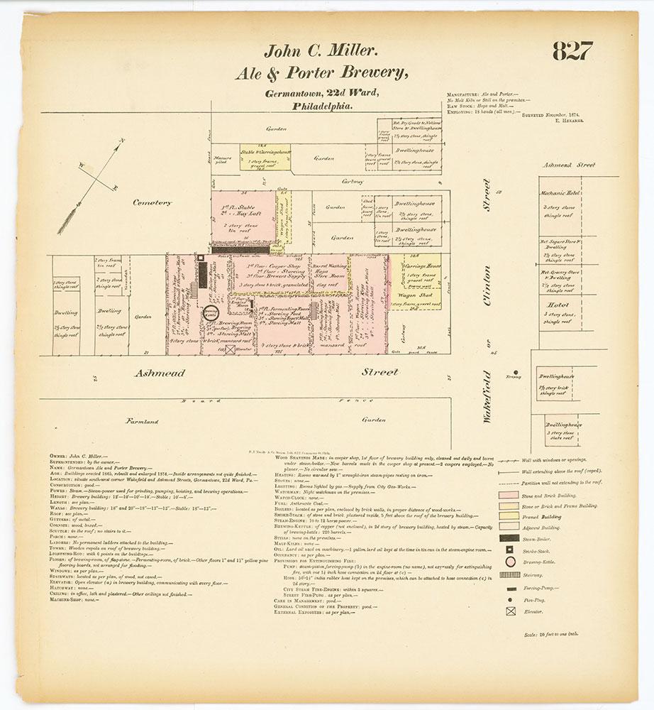 Hexamer General Surveys, Volume 9, Plate 827