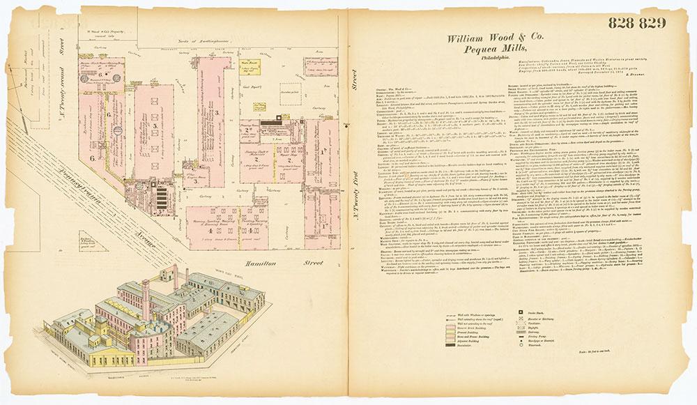 Hexamer General Surveys, Volume 9, Plates 828-829