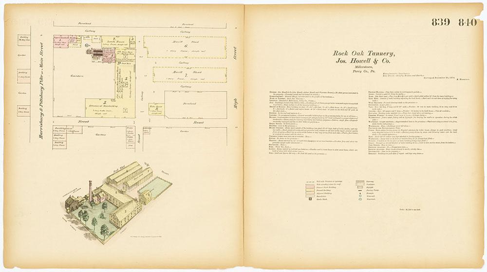 Hexamer General Surveys, Volume 9, Plates 839-840