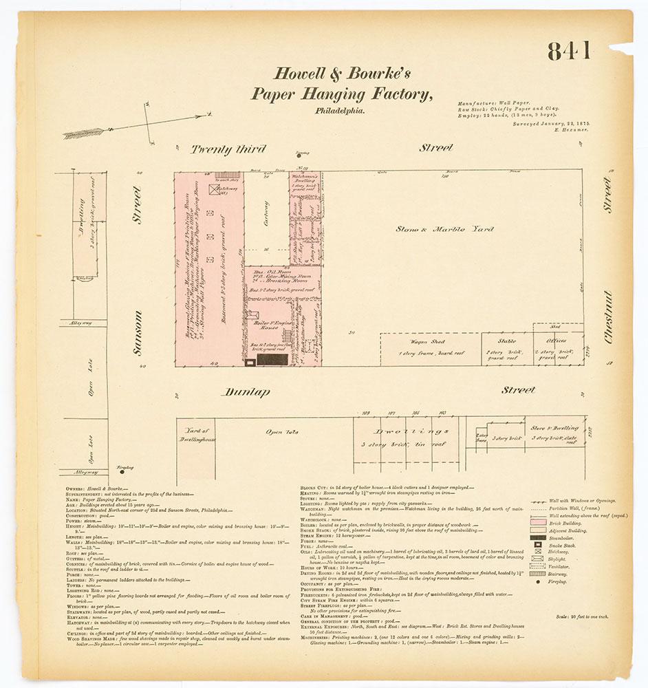 Hexamer General Surveys, Volume 9, Plate 841