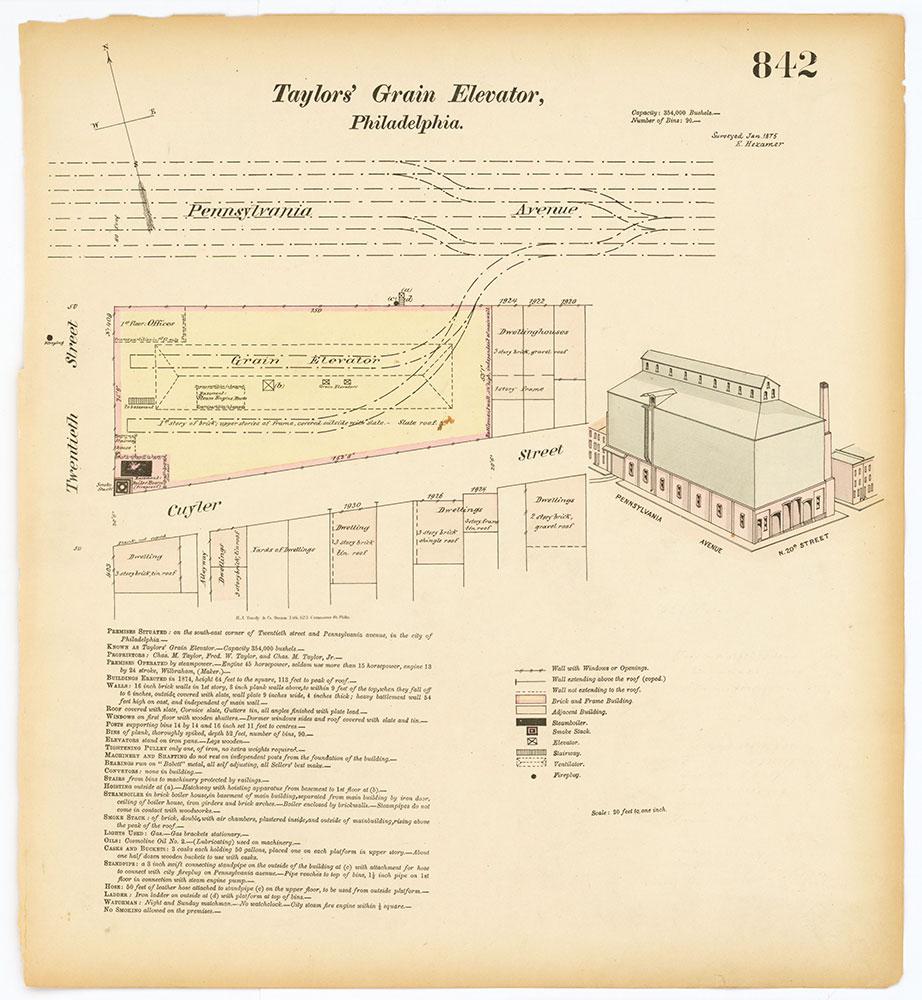 Hexamer General Surveys, Volume 9, Plate 842