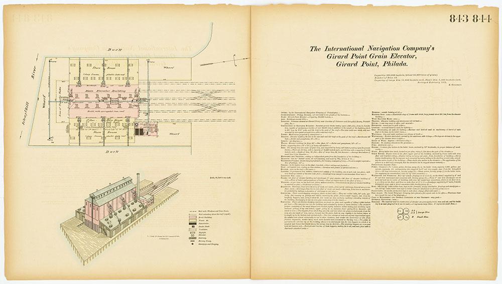 Hexamer General Surveys, Volume 9, Plates 843-844