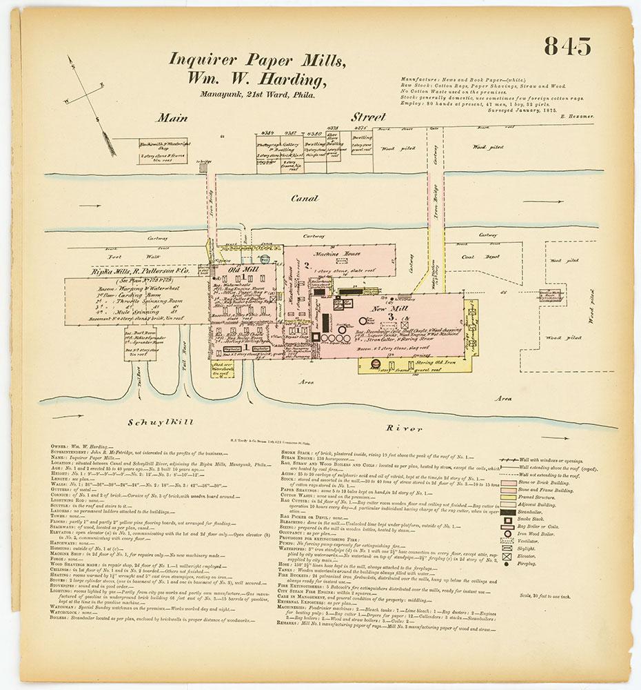 Hexamer General Surveys, Volume 9, Plate 845