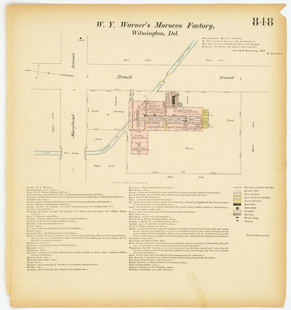 Hexamer General Surveys, Volume 9, Plate 848