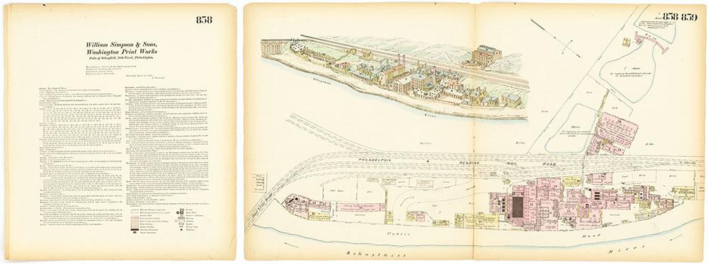 Hexamer General Surveys, Volume 10, Plates 858-859