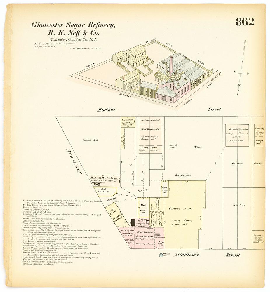 Hexamer General Surveys, Volume 10, Plate 862