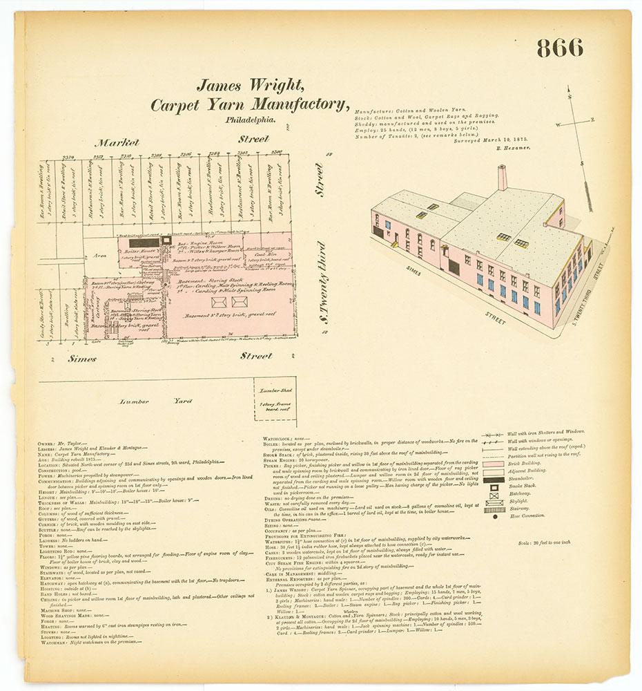 Hexamer General Surveys, Volume 10, Plate 866