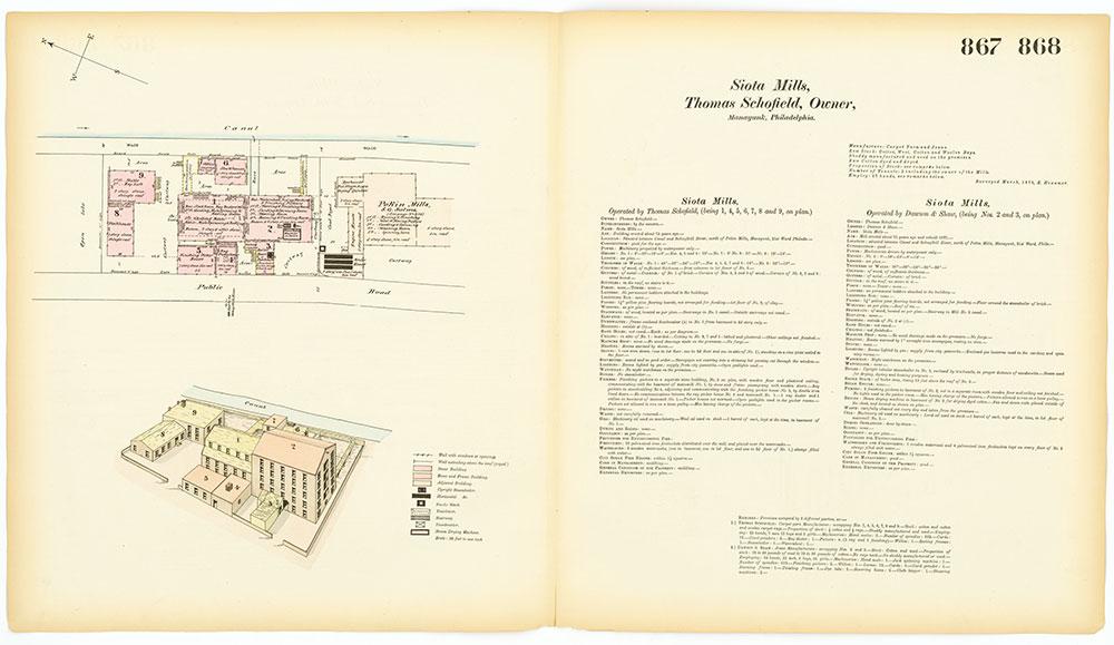 Hexamer General Surveys, Volume 10, Plates 867-868