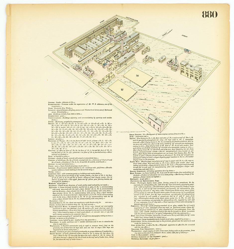 Hexamer General Surveys, Volume 10, Plate 880