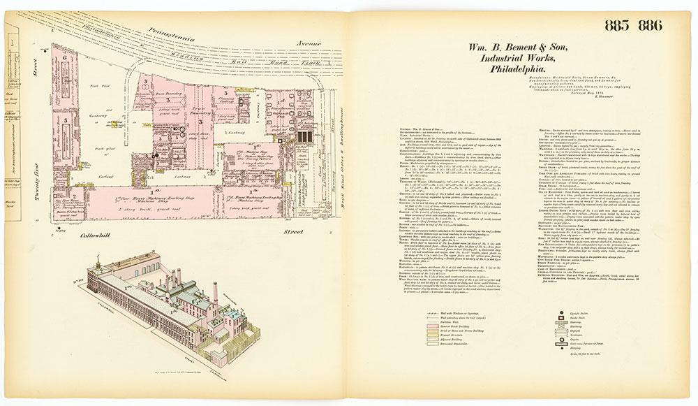 Hexamer General Surveys, Volume 10, Plates 885-886