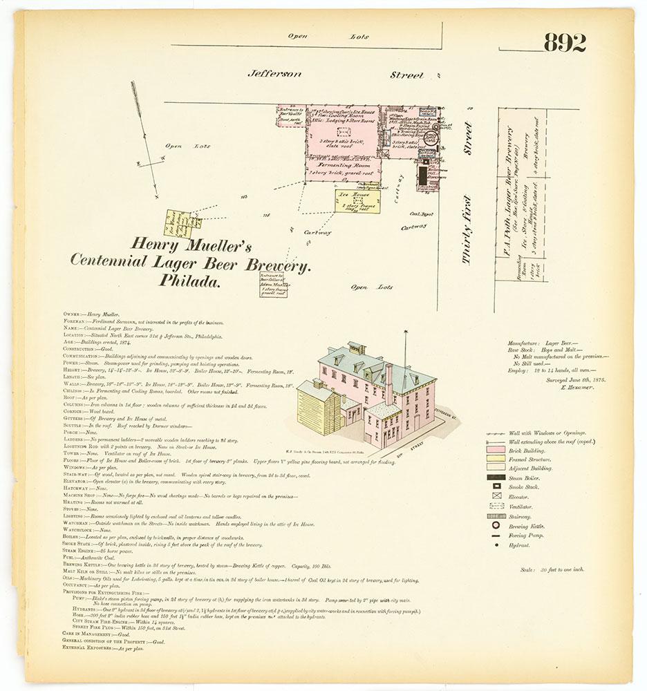 Hexamer General Surveys, Volume 10, Plate 892
