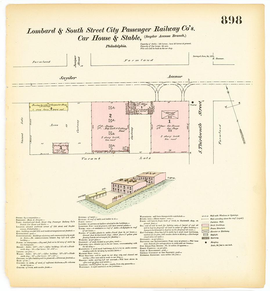 Hexamer General Surveys, Volume 10, Plate 898