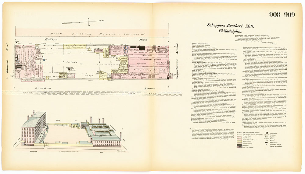 Hexamer General Surveys, Volume 10, Plates 908-909