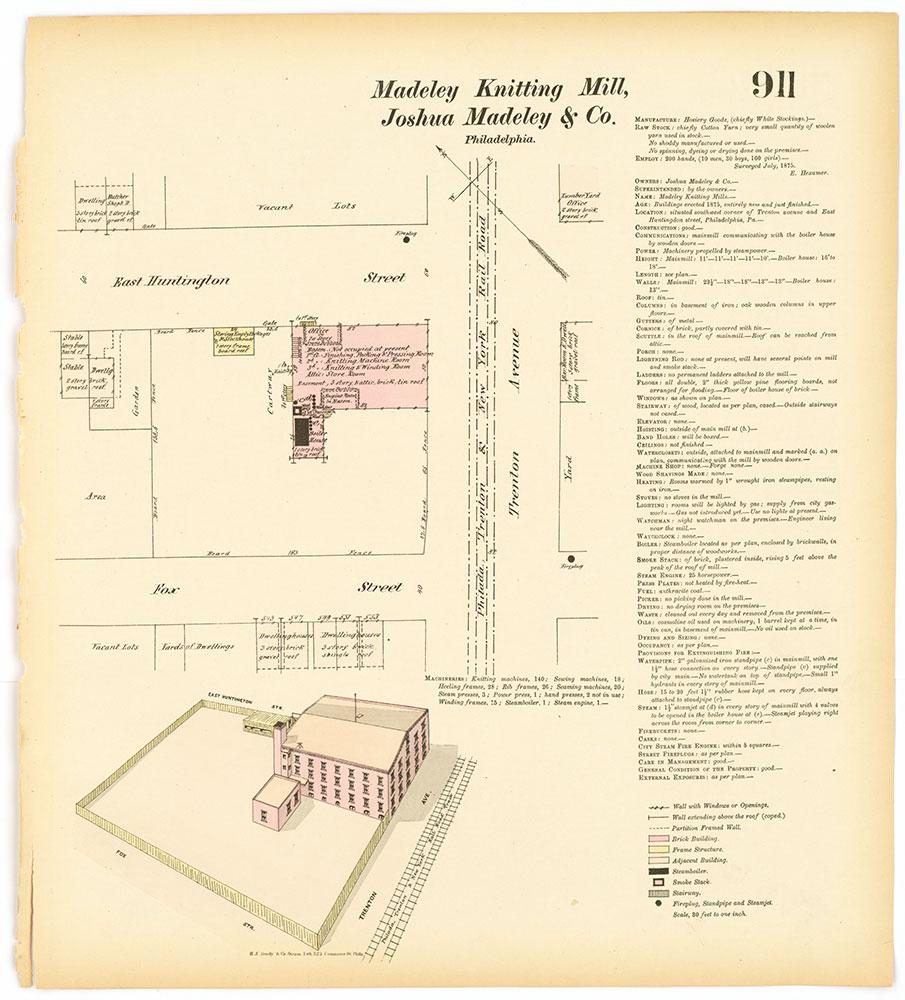 Hexamer General Surveys, Volume 10, Plate 911