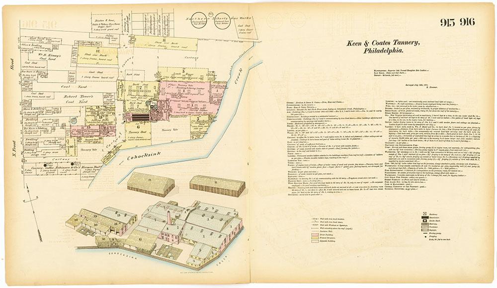 Hexamer General Surveys, Volume 10, Plates 915-916