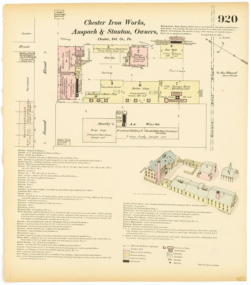 Hexamer General Surveys, Volume 10, Plate 920