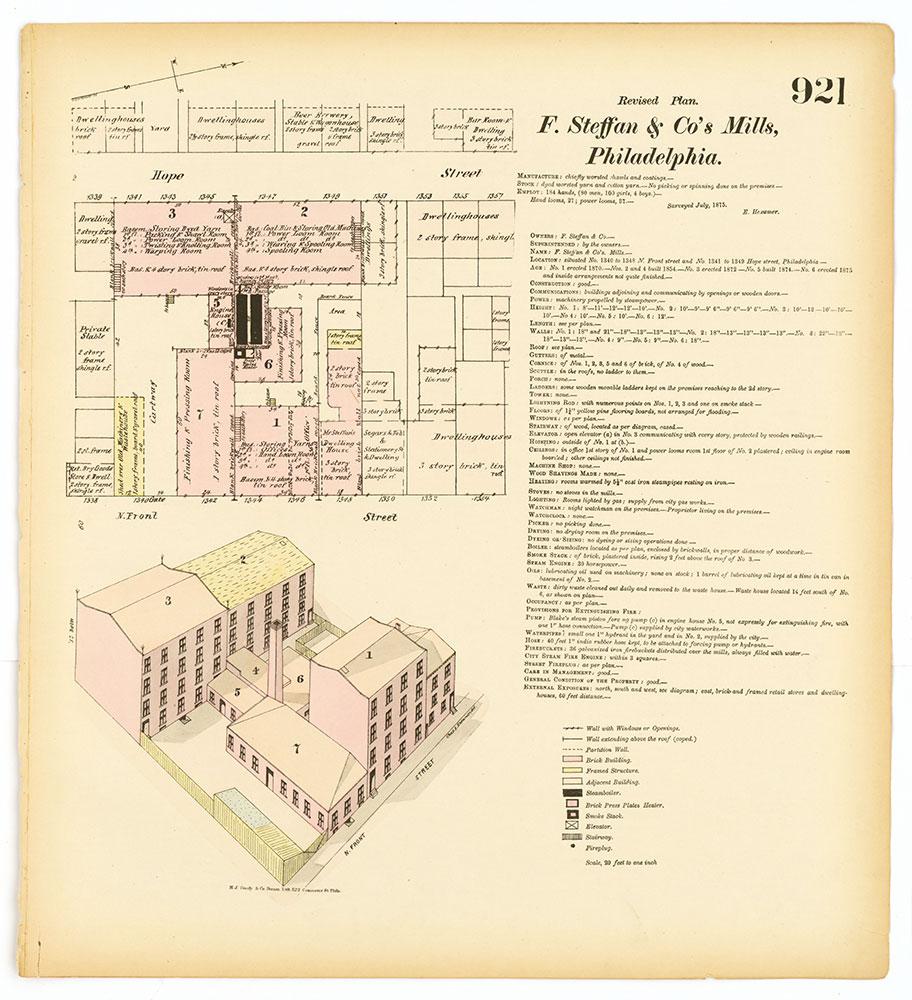 Hexamer General Surveys, Volume 10, Plate 921