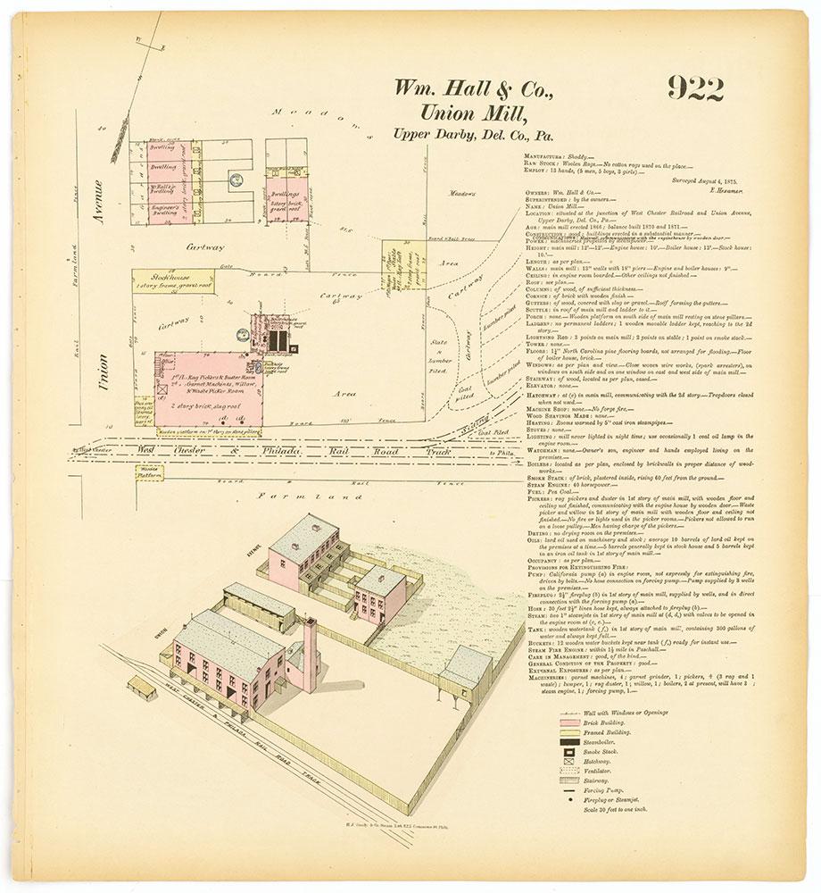 Hexamer General Surveys, Volume 10, Plate 922