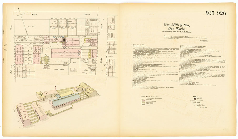 Hexamer General Surveys, Volume 10, Plates 925-926