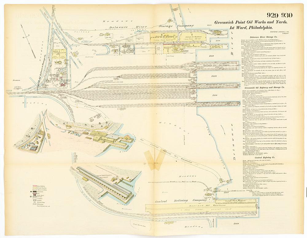 Hexamer General Surveys, Volume 10, Plates 929-930
