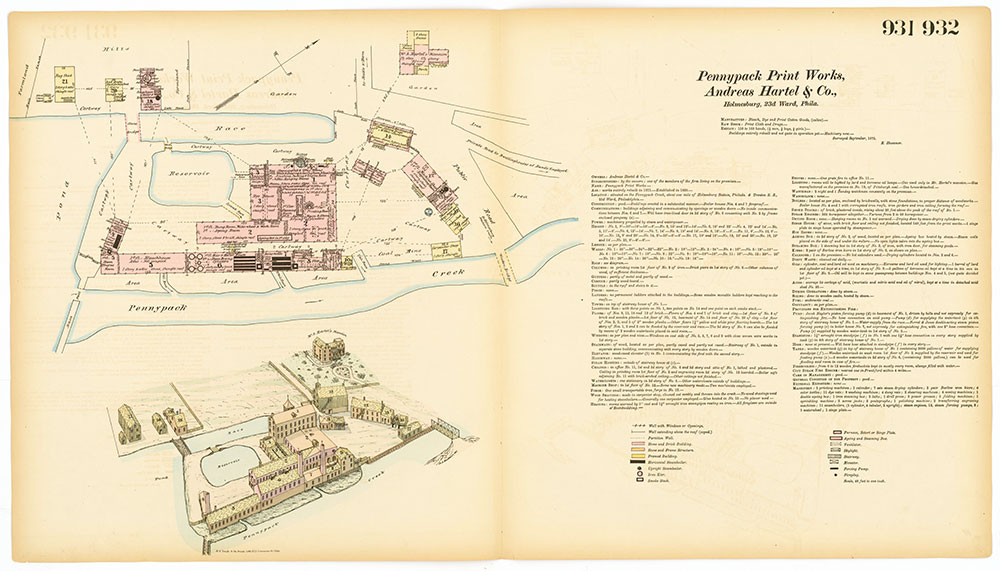 Hexamer General Surveys, Volume 10, Plates 931-932
