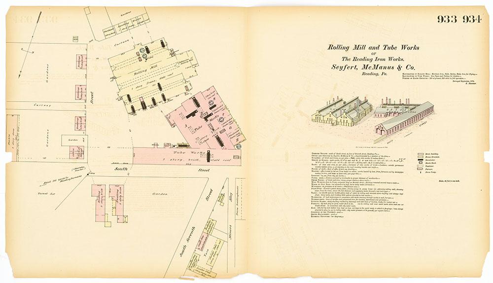 Hexamer General Surveys, Volume 10, Plates 933-934