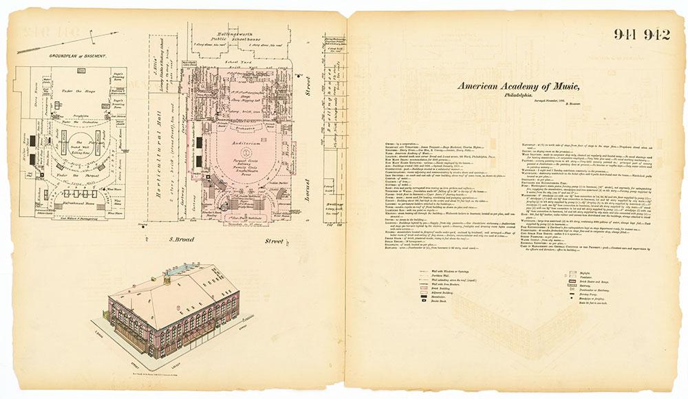 Hexamer General Surveys, Volume 10, Plates 941-942