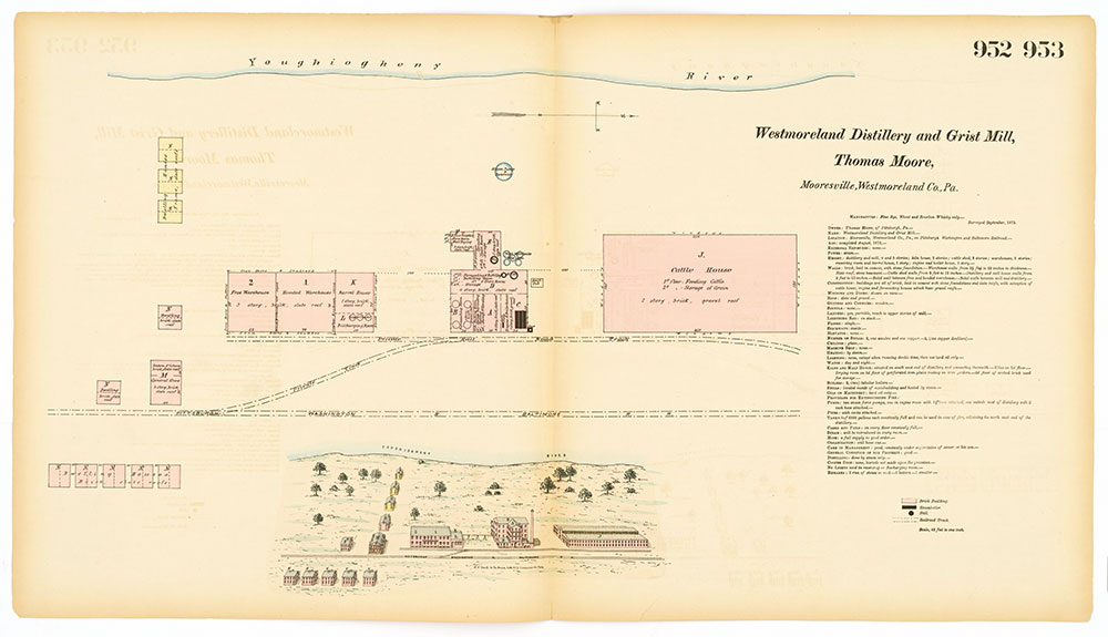 Hexamer General Surveys, Volume 10, Plates 952-953
