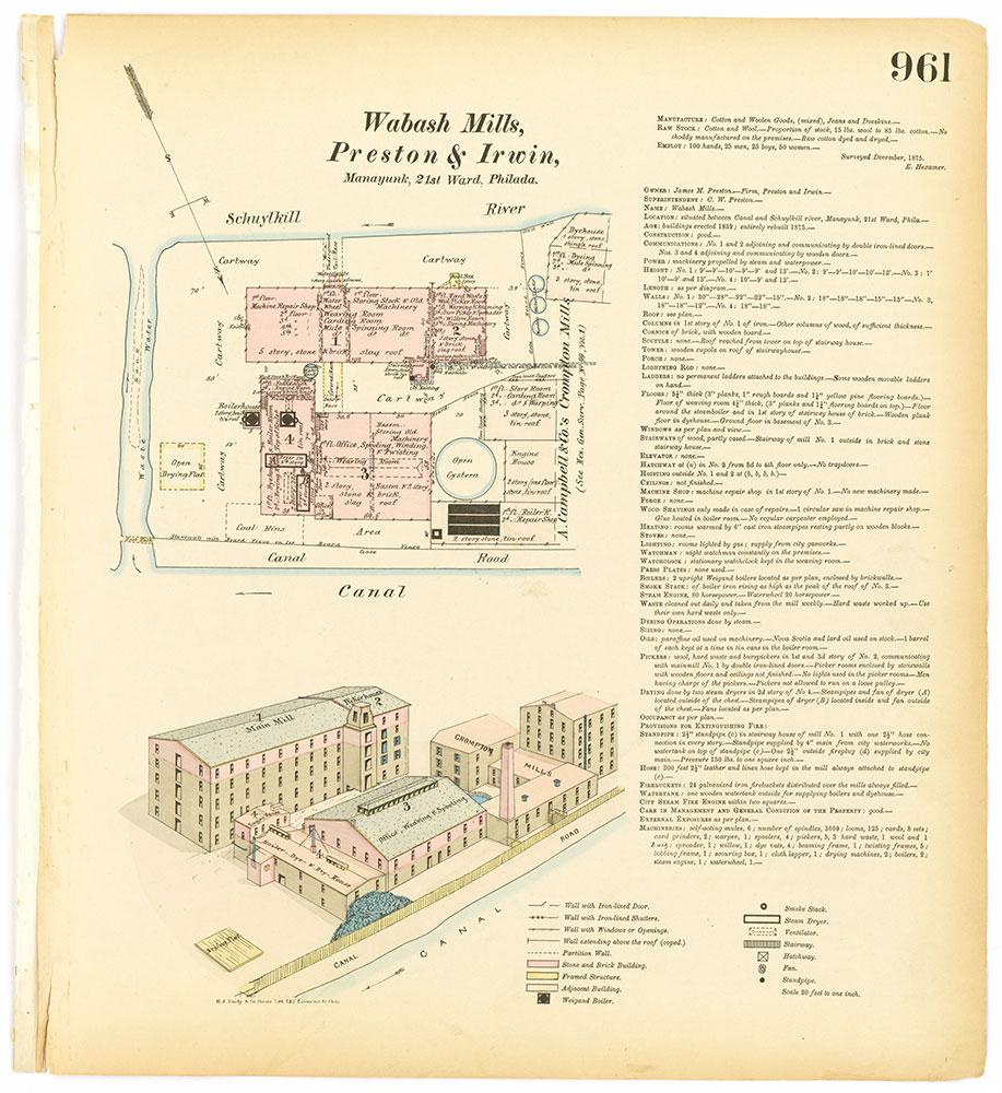 Hexamer General Surveys, Volume 11, Plate 961