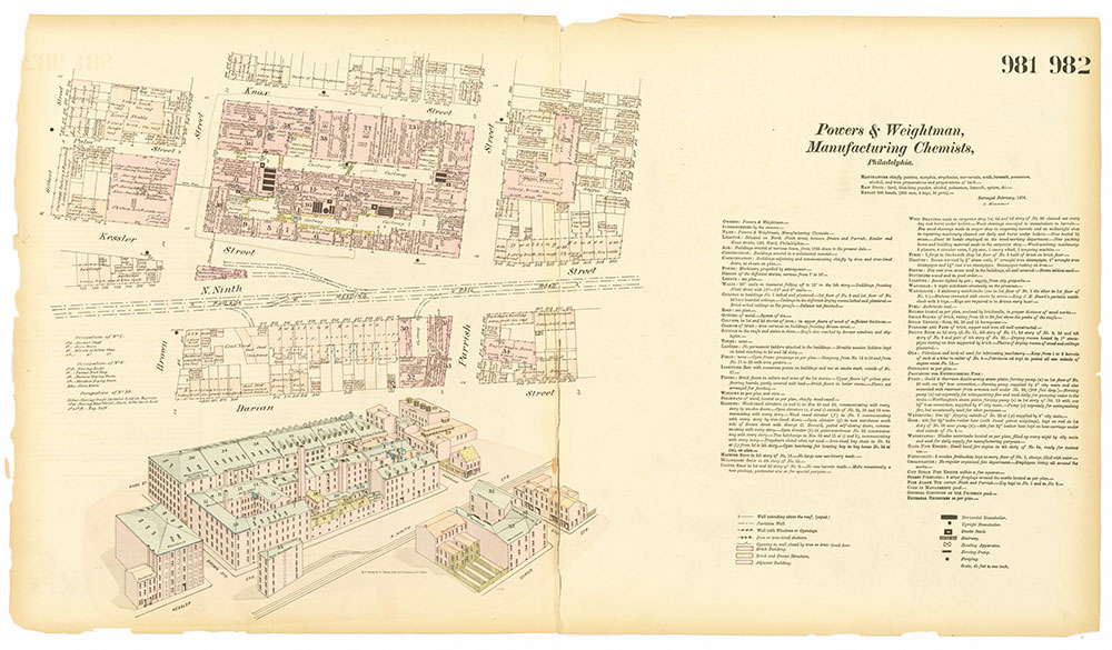 Hexamer General Surveys, Volume 11, Plates 981-982