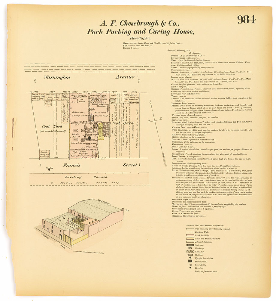 Hexamer General Surveys, Volume 11, Plate 984