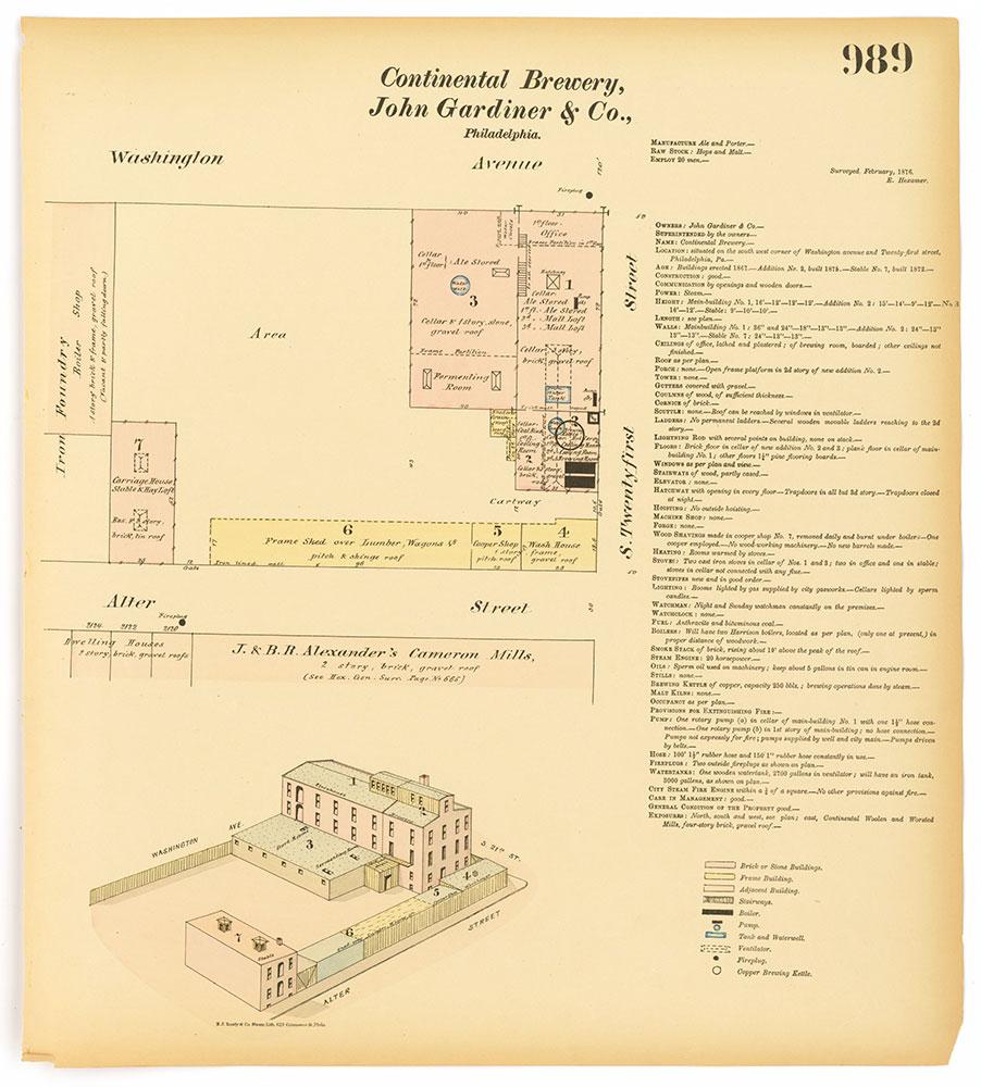 Hexamer General Surveys, Volume 11, Plate 989